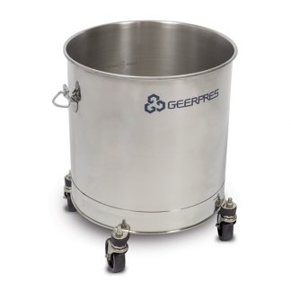 Stainless Steel Round Bucket Image