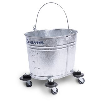2107 Seaway® Galvanized Oval Mop Bucket