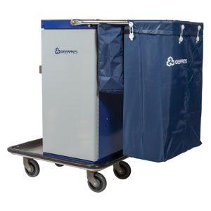 Genesis PC Cart with Microfiber Bag System