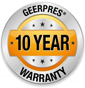 Geerpres 10 year Warranty Icon