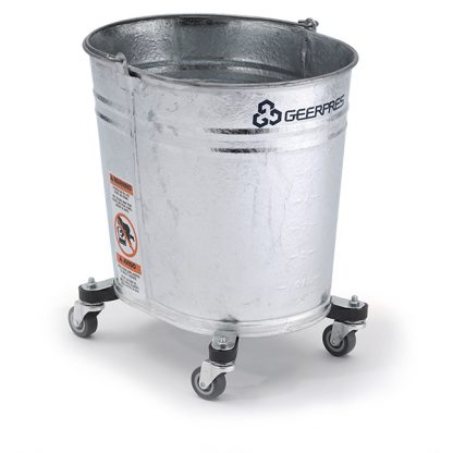 35-quart Seaway Galvanized Oval Mop Bucket with Casters