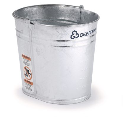 35-quart Seaway Galvanized Oval Mop Bucket