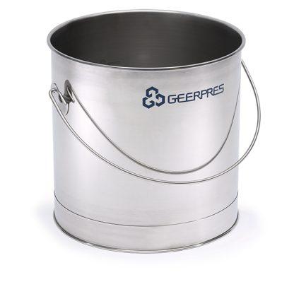 8-gallon Stainless Steel Round Bucket