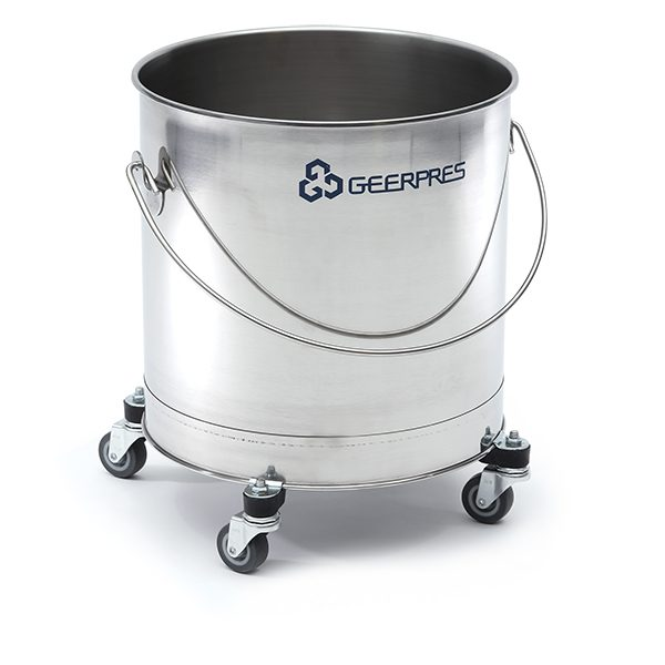 2221 SS Round Bucket