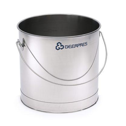 11-gallon Stainless Steel Round Bucket