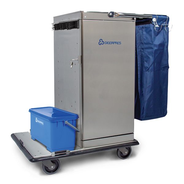 Cart with Microfiber Tray Option
