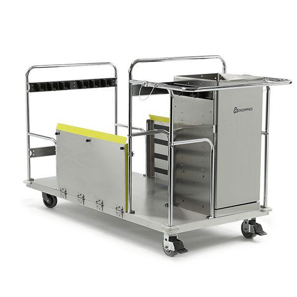 Floor Finish Equipment Cart