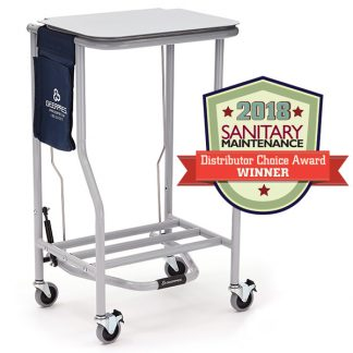 Linen Cart with Top 40 Awards Badge