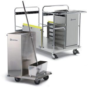 Healthcare EVS carts