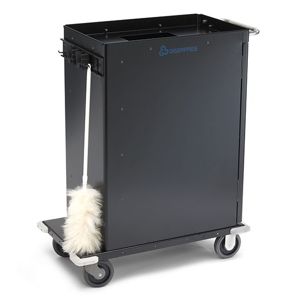 casino cart with duster