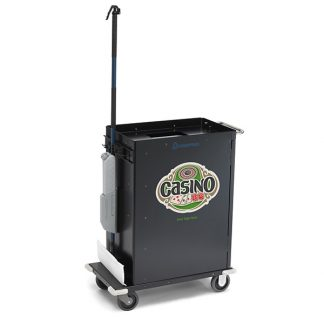 casion cart with custom logo