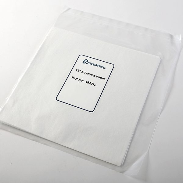 Advantex Disposable Flat Wipe Sample Package