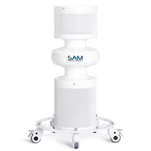 SAM 400 Portable Air Disinfection Device - Front View