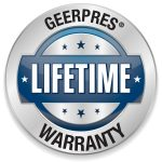 Geerpres Lifetime Warranty Icon