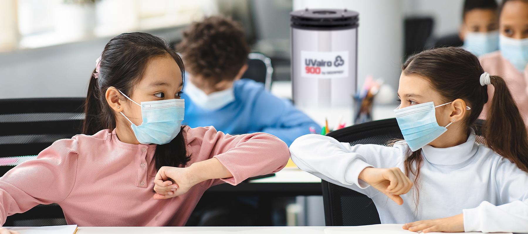 UVairo Air Sanitizer for Education image